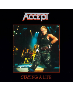 accept staying a life clear black double vinyl