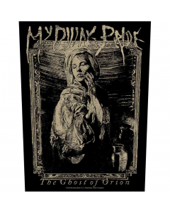my dying bride the ghost of orion woodcut backpatch