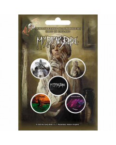 my dying bride the ghost of orion button badge pack