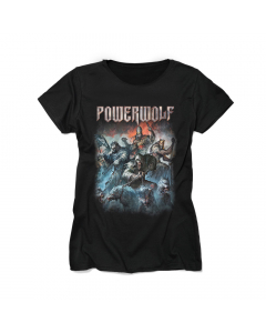 POWERWOLF - Best of the Blessed  / Ladies Shirt