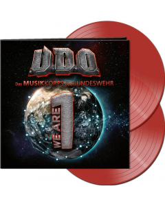 We Are One CLEAR RED 2- Vinyl