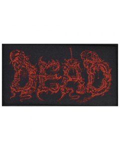 dead red logo patch