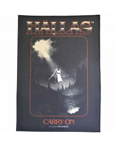 hallas carry on backpatch