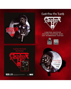 asphyx last one on earth shape picture vinyl