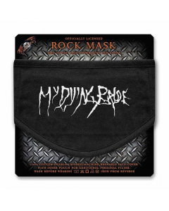 my dying bride logo face mask