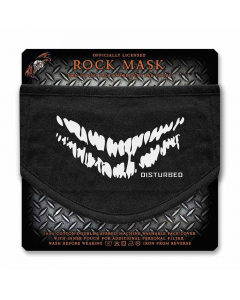 disturbed smile face mask