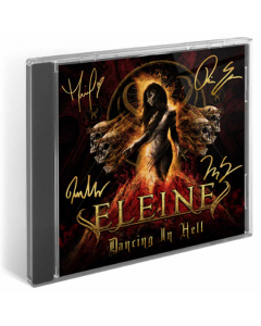 eleine dancing in hell coloured cover signed cd