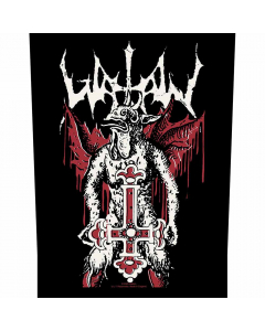 watain inverted cross backpatch