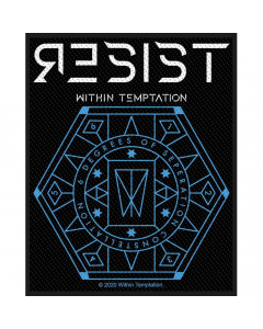 within temptation resist hexagon patch