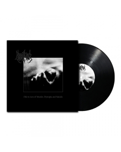 deinonychus ode to acts of murder dystopia and suicide black vinyl