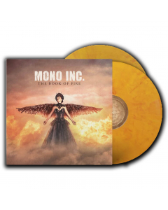 mono inc the book of fire yellow red vinyl