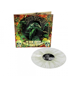 rob zombie the lunar injection kool aid eclipse conspiracy clear glow in the dark splatter vinyl