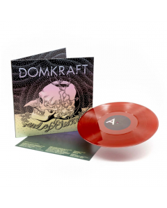 domkraft the end of electricity oxblood red vinyl