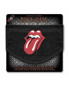 the rolling stones tongue face mask