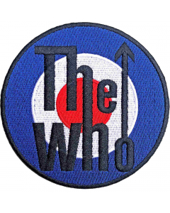 the who target logo patch