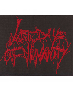 last days of humanity logo patch