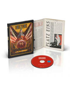 Live In Moscow - Digipak BluRay