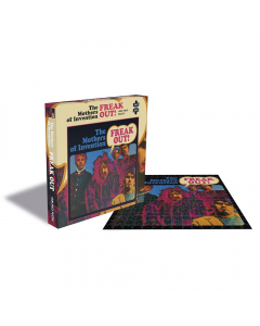 franz zappe and the mothers of invention jigsaw puzzle
