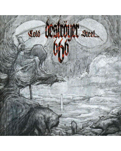 Cold Steel For An Iron Age - RED BLACK Marbled Vinyl
