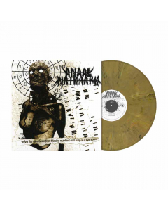 When Fire Rains Down From The Sky, Mankind Will Reap As It Has Sown (RI) - BRAUN BEIGE Marmoriertes Vinyl