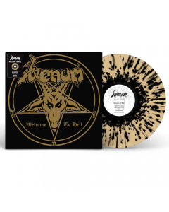 Welcome to Hell (40th Anniversary Limited Edition ) - SPLATTER Vinyl