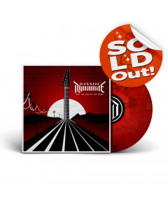 Not the End of the Road - ROT SCHWARZ marmoriertes Vinyl