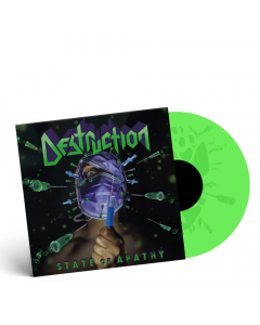 """Destruction - State of Apathy - NEON GREEN 12"""" EP"""