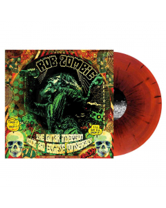 Rob Zombie The Lunar Injection Kool Aid Eclipse Conspiracy Clear Glow In The Dark Splatter LP