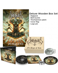 Unleashed - No Sign of Life - Wooden Box