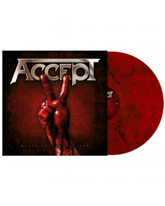 ACCEPT - Blood Of The Nations / YELLOW 2-LP Gatefold