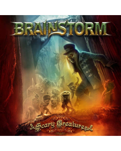 brainstorm scary creatures cd