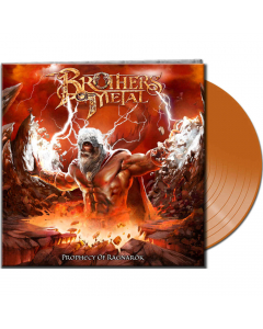 BROTHERS OF METAL - Prophecy Of Ragnarök / CLEAR RED LP Gatefold