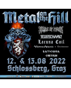 metal on the hill 2021 vip ticket