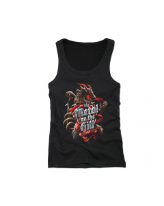 metal on the hill girlie tank top 2020