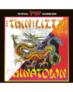 The Official Thin Lizzy Colouring Book