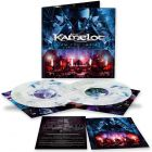kamelot i am the empire live from the 013 blue white marbled 2 vinyl