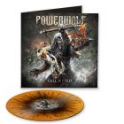 powerwolf call of the wild orange black splatter vinyl