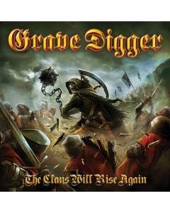 grave digger the clains will rise again cd