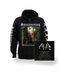 summoning old mornings dawn zip hoodie
