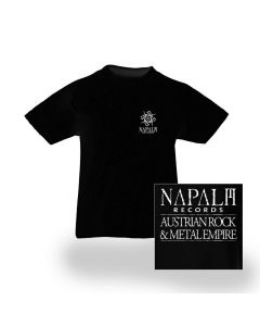 Napalm Pocket Logo / BLACK Kids T-Shirt