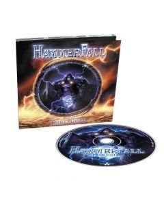 20236-1 hammerfall threshold digipak cd heavy metal