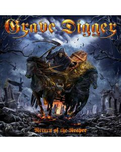 grave digger return of the reaper cd