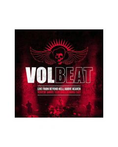 22996 volbeat live from beyond hell above heaven red 3-lp rock
