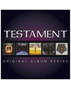 TESTAMENT - Original Album Series / 5-CD BOX