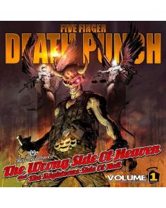 FIVE FINGER DEATH PUNCH - Wrong Side Of Heaven And The Righteous Side Of Hell Vol. 1 / CD