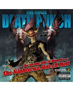 FIVE FINGER DEATH PUNCH - Wrong Side Of Heaven And The Righteous Side Of Hell Vol. 2 / CD