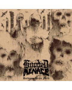 HOODED MENACE - Darkness Drips Forth / CD