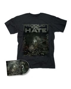 Buried In Violence / CD + T-Shirt BUNDLE