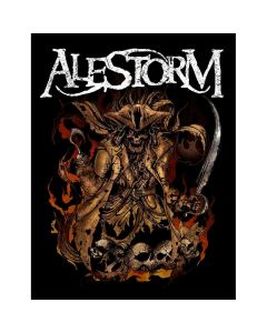 alestorm we are here to drink cover patch