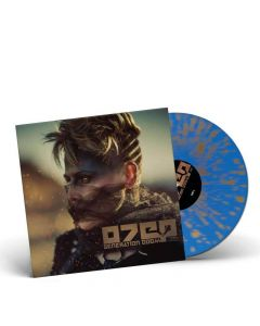 26255-1 otep generation doom blue golden splatter lp alternative metal